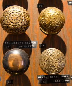 Doorknobs from HHM collection.